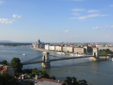 Vista de Pest desde el Castillo de Buda