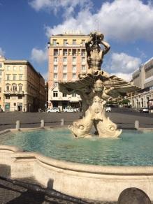 Fuente Triton - Roma