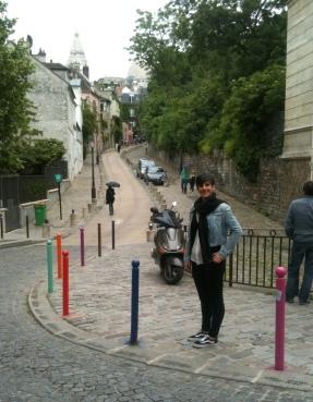 Subiendo por Montmartre