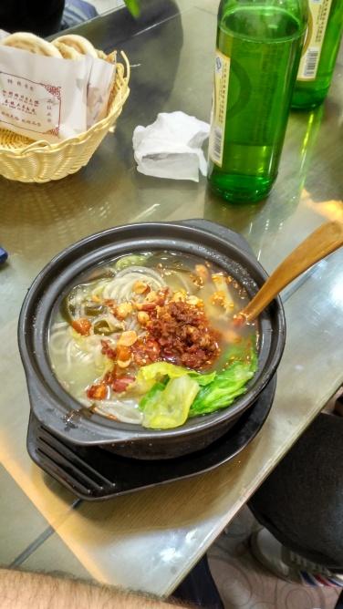 Nuestros primeros Noodles en Pekin