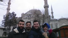Merbaha! Primea visita en Estambul