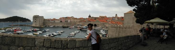 Dubrovnik desde las murallas del puerto