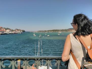 San Vicente desde el puerto