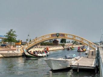Aveiro Portugal Puente Amarelo
