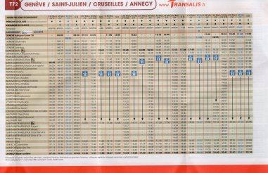 Annecy - Transalis - Autobuses
