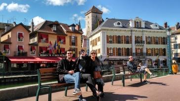 Canal principal de Annecy