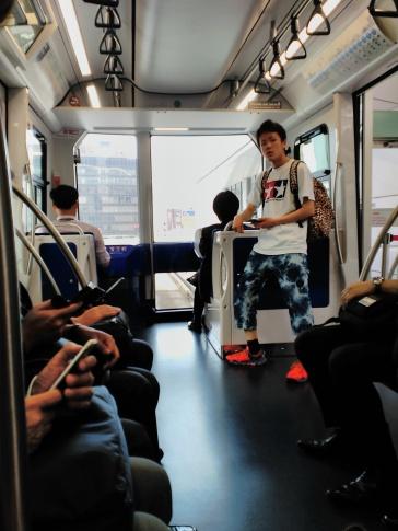 Tren sin conductor a Odaiba