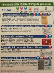 Tokio - Metro - Toei - Transporte