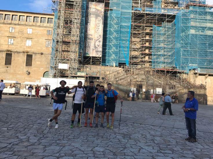 Santiago de Compostela - etapas