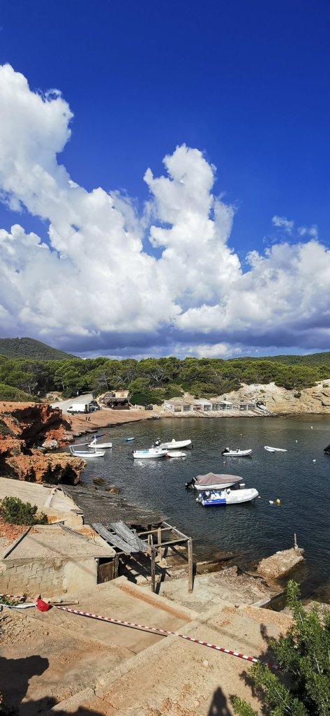 Cala Pou des Lleó, Ibiza